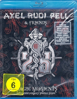Axel Rudi Pell ‎– Magic Moments: 25th Anniversary Special Show