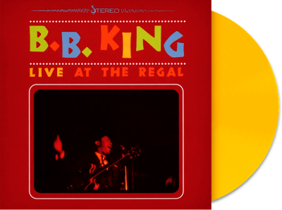 B.B. King ‎– Live At The Regal (Цветная Пластинка)