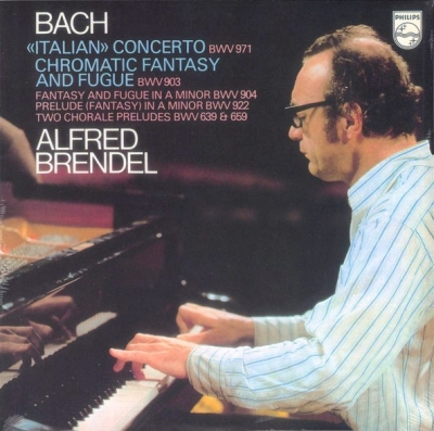 Bach - Alfred Brendel ‎–  Concerto BWV 971 / Chromatic Fantasy And Fugue BWV 903