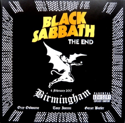 Black Sabbath ‎– The End (4 February 2017 - Birmingham) (2xCD)