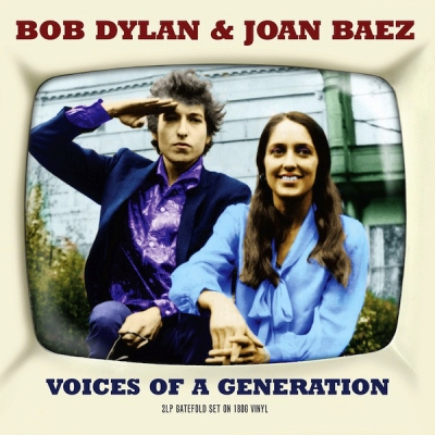 Bob Dylan & Joan Baez ‎– Voices Of A Generation (2xLP)