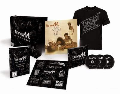 Boney M. ‎– Diamonds (40th Anniversary Edition) (3xCD, LP, DVD, Футболка) (Deluxe Edition)