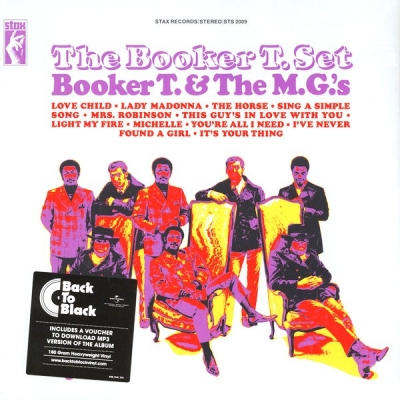 Booker T & The MG's ‎– The Booker T. Set