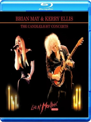 Brian May & Kerry Ellis ‎– The Candlelight Concerts - Live At Montreux 2013 (Blu-ray+CD)