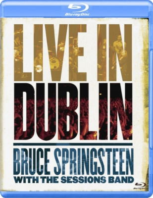 Bruce Springsteen With The Sessions Band ‎– Live In Dublin