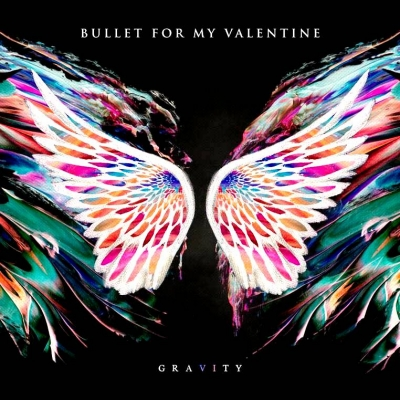 Bullet For My Valentine ‎– Gravity (Pink/Black)