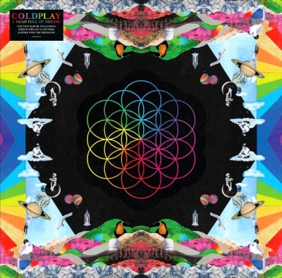 Coldplay ‎– A Head Full Of Dreams (2xLP)