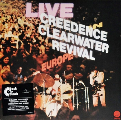 Creedence Clearwater Revival ‎– Live In Europe (2xLP)