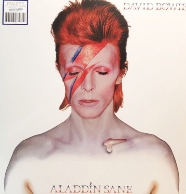 David Bowie ‎– Aladdin Sane (Limited Edition, Reissue, Remastered, Repress, Silver)