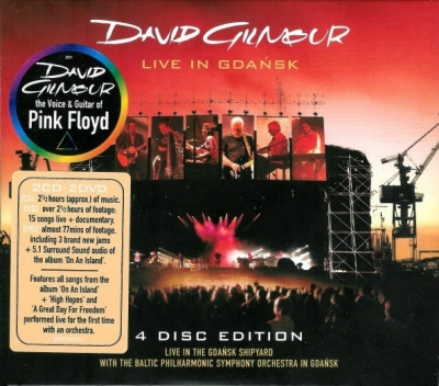 David Gilmour ‎– Live In Gdańsk (2xCD+2xDVD)
