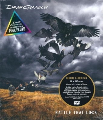 David Gilmour ‎– Rattle That Lock (CD+DVD) (Deluxe Edition)
