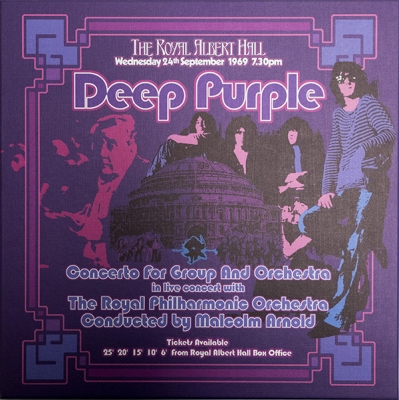 Deep Purple, The Royal Philharmonic Orchestra Conducted By Malcolm Arnold ‎– Concerto For Group And Orchestra (3xLP)