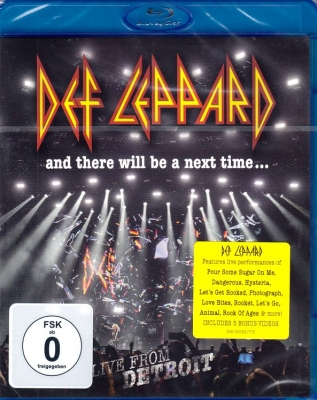 Def Leppard ‎– And There Will Be A Next Time... Live From Detroit