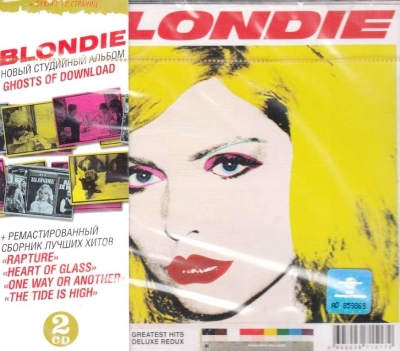 Blondie ‎– Greatest Hits: Deluxe Redux / Ghosts Of Download (2xCD)