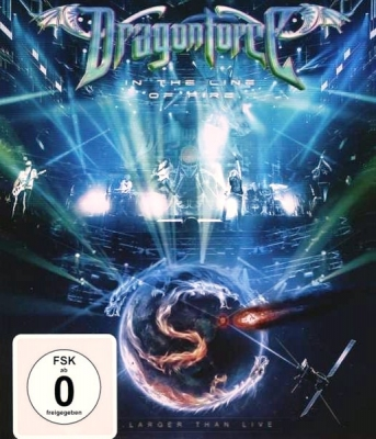 Dragonforce ‎– In The Line Of Fire (Larger Than Live)