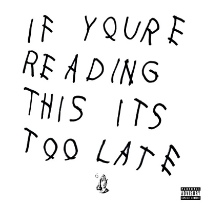 Drake ‎– If You're Reading This It's Too Late (2xLP)