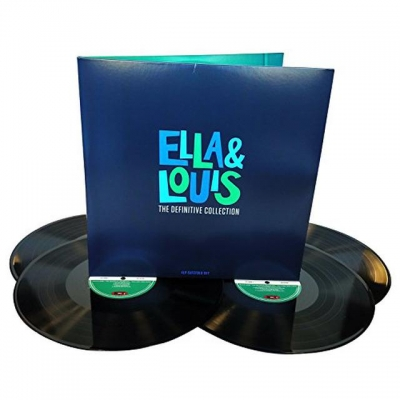 Ella & Louis ‎– The Definitive Collection (4xLP)