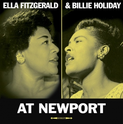 Ella Fitzgerald, Billie Holiday ‎– At Newport
