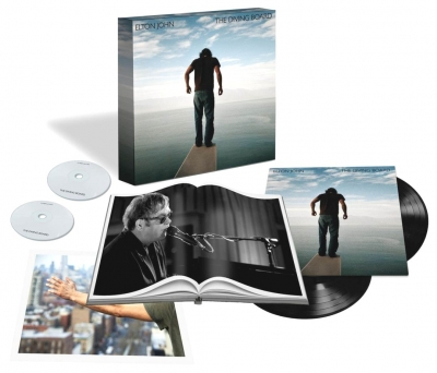 Elton John ‎– The Diving Board (2xLP, CD, DVD, Book)