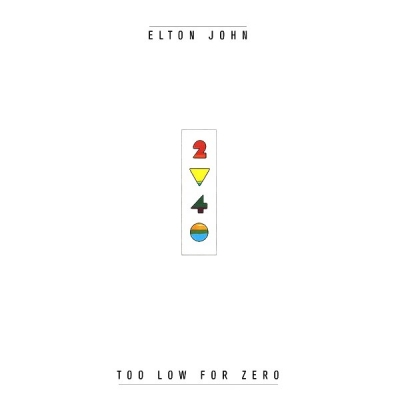 Elton John ‎– Too Low For Zero