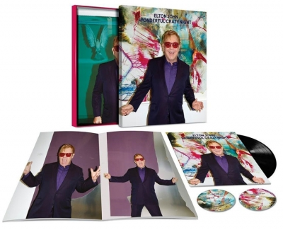 Elton John ‎– Wonderful Crazy Night (LP+2xCD) (Boxset Deluxe Edition)