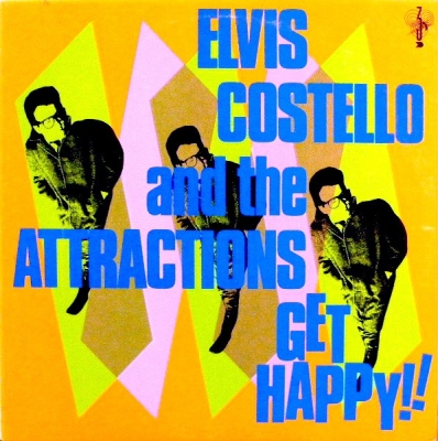 Elvis Costello And The Attractions ‎– Get Happy! (2xLP)