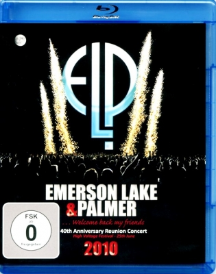 Emerson, Lake & Palmer ‎– 40th Anniversary Reunion Concert