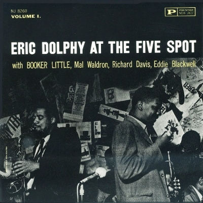 Eric Dolphy ‎– At The Five Spot, Volume 1.