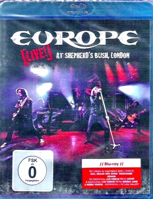 Europe - Live! At Shepherd´s Bush, London