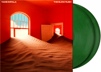 Tame Impala ‎– The Slow Rush (2xLP, Limited Edition, Green [Forest Green], 180gm)