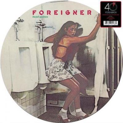 Foreigner ‎– Head Games (Picture Disc)