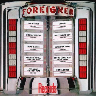 Foreigner ‎– Records (Red)