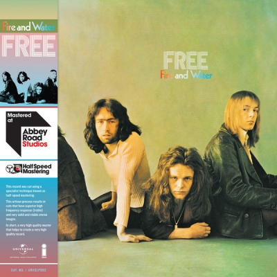 Free ‎– Fire And Water (Mastered At Abbey Road Studios - Half Speed Mastering)