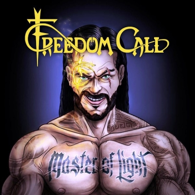 Freedom Call ‎– Master Of Light (2xLP, CD, Blue)