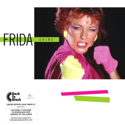 Frida ‎– Shine (Цветной Винил, Green Translucent)