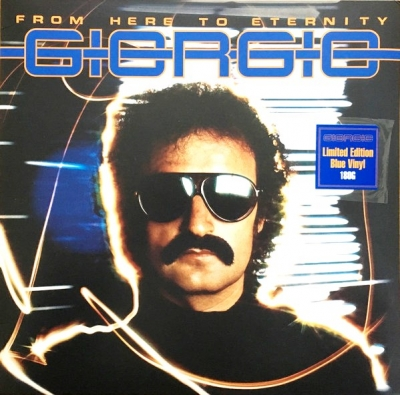 Giorgio Moroder ‎– From Here To Eternity (Limited Edition, Blue Vinyl)