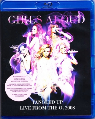 Girls Aloud ‎– Tangled Up - Live From The O₂ 2008