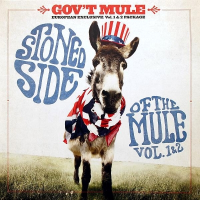 Gov't Mule ‎– Stoned Side Of The Mule - Vol.1 & 2 (2xLP)