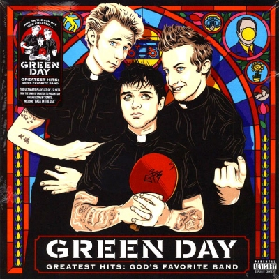 Green Day ‎– Greatest Hits: God's Favorite Band (2xLP)