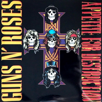 Guns N' Roses ‎– Appetite For Destruction (2xLP)