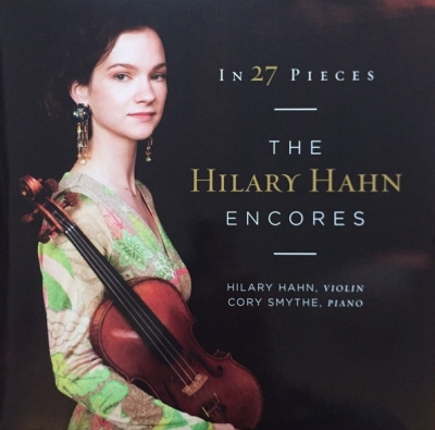 Hilary Hahn ‎– In 27 Pieces: The Hilary Hahn Encores (2xLP)