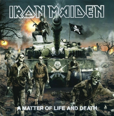 Iron Maiden ‎– A Matter Of Life And Death (2xLP)