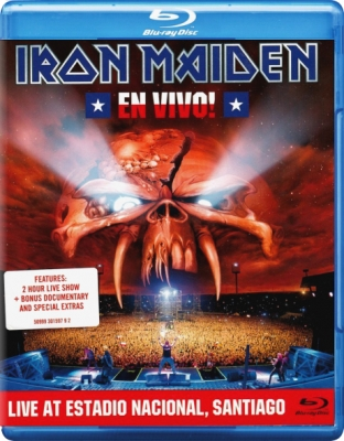 Iron Maiden ‎– En Vivo! (Live At Estadio Nacional, Santiago)