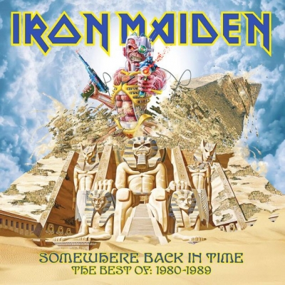 Iron Maiden ‎– Somewhere Back In Time - The Best Of: 1980-1989 (2xLP)