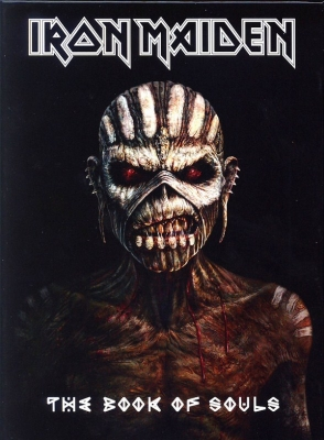 Iron Maiden ‎– The Book Of Souls (2xCD) (Deluxe Edition)