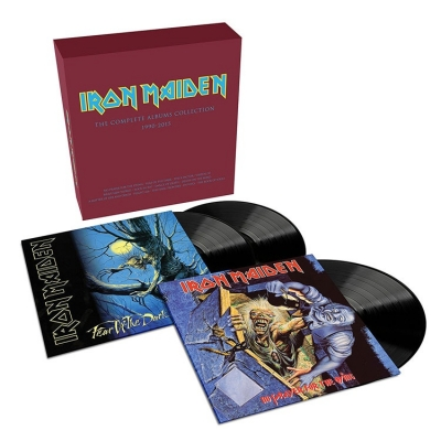 Iron Maiden ‎– The Complete Albums Collection 1990-2015 (3xLP)