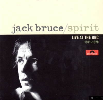 Jack Bruce ‎– Spirit (Live At The BBC 1971-1978) (3xCD)