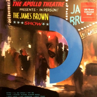 James Brown ‎– Live At The Apollo (Blue)