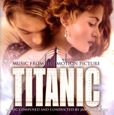 James Horner ‎– Titanic (Music From The Motion Picture) (2xLP, Limited Edition, Numbered, 180gram, Blue Transparent)