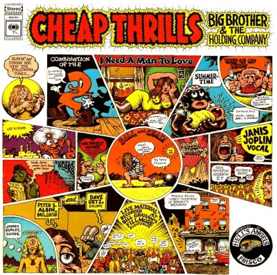 Big Brother & The Holding Company, Featuring Janis Joplin ‎– Cheap Thrills
